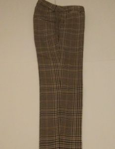EUC H&M Plaid Cropped Pants Size 2
